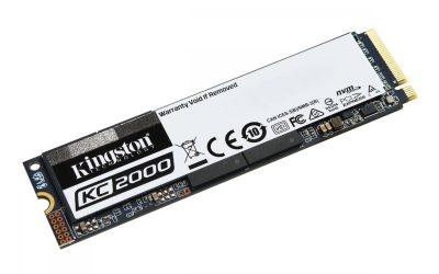 Kingston KC2000 M.2 NVMe SSD 250GB Lecteur