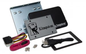 Kingston UV500 2.5-inch SSD Upgrade Kit 960GB Lecteur