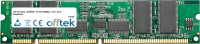 168 Pin Dimm - SDRAM - PC100 (100Mhz) - 3.3V - ECC Enregistré 1GB Module