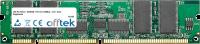 168 Pin Dimm - SDRAM - PC133 (133Mhz) - 3.3V - ECC Enregistré 256MB Module