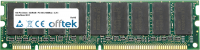 168 Pin Dimm - SDRAM - PC100 (100Mhz) - 3.3V - Non-tamponé ECC 512MB Module