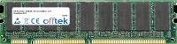 168 Pin Dimm - SDRAM - PC133 (133Mhz) - 3.3V - Non-tamponé ECC 512MB Module