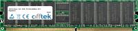 184 Pin Dimm - 2.5V - DDR - PC2100 (266Mhz) - ECC Enregistré 256MB Module