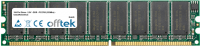 184 Pin Dimm - 2.5V - DDR - PC2700 (333Mhz) - Non-tamponé ECC 256MB Module
