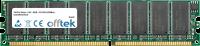 184 Pin Dimm - 2.5V - DDR - PC2700 (333Mhz) - Non-tamponé ECC 512MB Module