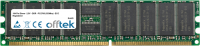 184 Pin Dimm - 2.5V - DDR - PC2700 (333Mhz) - ECC Enregistré 256MB Module