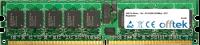 240 Pin Dimm - 1.8v - PC2-4200 (533Mhz) - ECC Enregistré 512MB Module