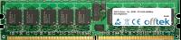 240 Pin Dimm - 1.8v - DDR2 - PC2-3200 (400Mhz) - ECC Enregistré 1GB Module