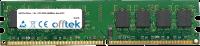 240 Pin Dimm - 1.8v - PC2-3200 (400Mhz)- Non-ECC 512MB Module