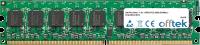 240 Pin Dimm - 1.8v - DDR2 PC2-4200 (533Mhz) -   Non-tamponé ECC 2GB Module