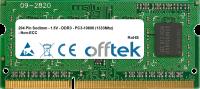 204 Pin Sodimm - 1.5V - DDR3 - PC3-10600 (1333Mhz) - Non-ECC 1GB Module