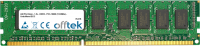 240 Pin Dimm - 1.5v - DDR3 - PC3-10600 (1333Mhz) - Non-tamponé ECC  2GB Module