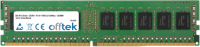 288 Pin Dimm - DDR4 - PC4-17000 (2133Mhz) - UDIMM - ECC Non-tamponé 16GB Module