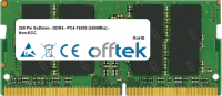 260 Pin SoDimm - DDR4 - PC4-19200 (2400Mhz) - Non-ECC   4GB Module