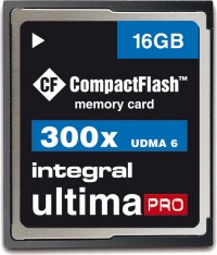 Integral Ultima-Pro Compact Flash 16GB Carte (300x)