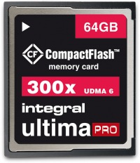 Integral Ultima-Pro Compact Flash 300X 64GB Carte