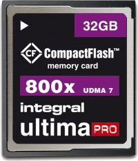 Integral Ultima-Pro Compact Flash 800X 32GB Carte