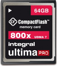 Integral Ultima-Pro Compact Flash 800X 64GB Carte
