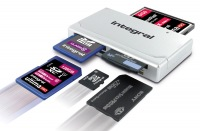 Integral High Speed USB 2.0 - 19 In 1 Carte Reader Carte Reader