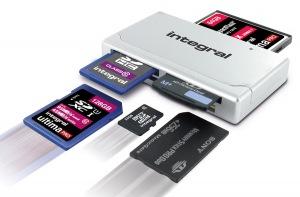 Integral High Speed USB 2.0 - 19 In 1 Carte Reader Carte Reader
