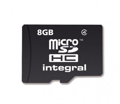 Integral Micro SDHC (Sans Adaptateur) 8GB Carte (Class 4)