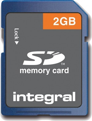 Integral Sécurisé Digital/SD Carte 2GB Carte