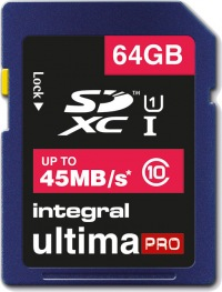 Integral SDXC 64GB Carte
