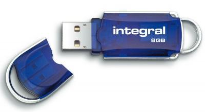 Integral Courier Lecteur Clé USB 8GB Lecteur