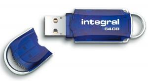 Integral Courier Lecteur Clé USB 64GB Lecteur