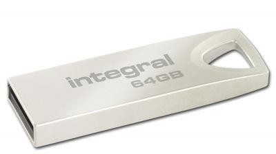 Integral Metal ARC USB 2.0 Flash Lecteur 64GB