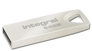 Integral Metal ARC USB 2.0 Flash Lecteur 64GB