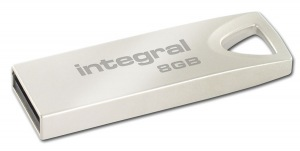 Integral Metal ARC USB 2.0 Flash Lecteur 8GB