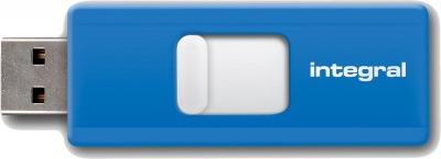 Integral Slide USB Lecteur 16GB (Blue)