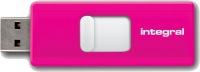 Integral Slide USB Lecteur 16GB (Pink)