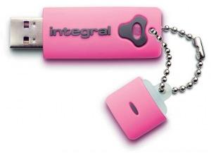 Integral Splash Lecteur 16GB Lecteur (Pink)
