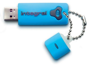 Integral Splash Lecteur 8GB Lecteur (Blue)