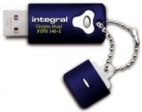 Integral Crypto Dual FIPS 140-2 Crypté USB Lecteur 8GB