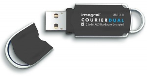 Integral Courier Dual FIPS 197 Crypté USB 3.0 Lecteur 16GB