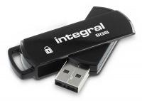 Integral Sécurisé 360 Pen Lecteur 8GB Lecteur