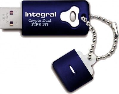 Integral Crypro Dual Lecteur Crypté USB - (FIPS 197) 8GB Lecteur