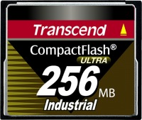 Transcend Industrial Ultra Compact Flash 256MB Carte (100x)