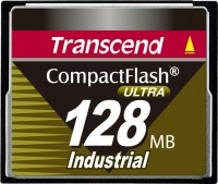 Transcend Industrial Ultra Compact Flash 128MB Carte (100x)