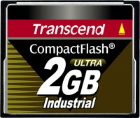 Transcend Industrial Ultra Compact Flash 2GB Carte (100x)