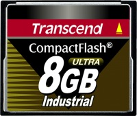 Transcend Industrial Ultra Compact Flash 8GB Carte (100x)
