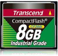 Transcend Industrial Ultra Compact Flash 8GB Carte (200x)
