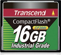 Transcend Industrial Ultra Compact Flash 16GB Carte (200x)
