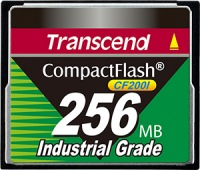 Transcend Industrial Ultra Compact Flash 256MB Carte (200x)