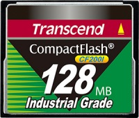 Transcend Industrial Ultra Compact Flash 128MB Carte (200x)