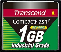 Transcend Industrial Ultra Compact Flash 1GB Carte (200x)