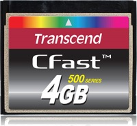 Transcend CFast  4GB Carte